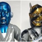 2018年4月29日の「スーパーフェスティバル77」へ出店するSamuraiDollは[大江戸ROBOTS]から「座頭ロボ双六」と「忍者ロボ」の新バージョンを準備中!