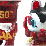 照紗氏が「デビュー50周年記念『和田アキ子 ART HOBBY EXPO』in SEIBU SHIBUYA」で「イヌハリゴン レッドドレスバージョン」を抽選販売!