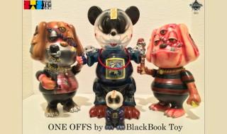 2018年4月5日からの「SHANGHAI TOY SHOW」でBlackBook Toyも自ら製作のワンオフを発売!