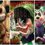 """2018年5月3日からの「Thailand Toy Expo」でBlackBook Toyが新作「Combatzilla」「S""""K""""UM-kun MC Cyco Supervillain」「Lil Alex」&「Dim」の「MC Supervillain」を準備中!"""