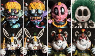 2018年5月3日からの「Thailand Toy Expo」でBlackBook Toyが「One offs by BlackBook Toy」を準備中!