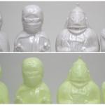 墓場の画廊にて開催中の「紅白TVヒーロー大回顧展」で2018年5月19日よりビッグワンンクラフト製「プリケッツ月光仮面」発売開始!
