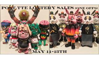 2018年5月11日〜2018年5月13日受付でBlackBook Toyが「Post TTE Lottery(one offs)」を抽選販売!!
