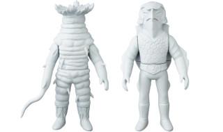 2018年5月発表の[東映レトロソフビコレクションM(ミドル)]原型スクープは『仮面ライダー』から「イソギンチャック」「カメストーン」だ!