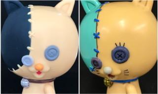 西武渋谷店にて開催される「北斗の拳35周年記念「北斗伝承展」IN SHIBUYA」にてMAMESが『北斗の拳』仕様な「踊り猫ボタン」を準備中!