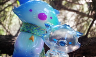 2018年7月29日の「WF2018夏」でOKLUNA TOYSが[JOBI the Moon Fox-The Neverending Story]として新作「桜あにきとちびソラセット」を発売!