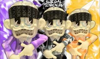 "BlackBook ToyがSuicidal Tendenciesとの「S""K""UM-kun」から「Acid Marble edition」3種を準備中!"