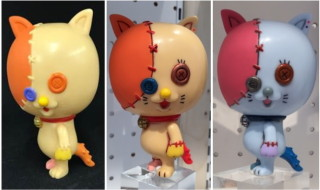ただ今、MAMES個展「MAMES Exhibition 2018 ファントムキャッツ」絶賛開催中! 2018年7月7日13時30分から「踊り猫のボタン スタンダードver.セミカスタム」も抽選販売!