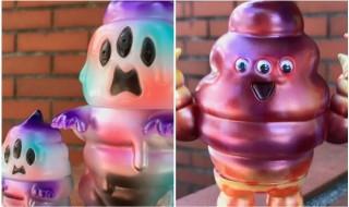 2018年7月27日〜2018年7月31日に香港の「B.O.A.T.」にてアートジャンキー東京が「「とぐろ怪獣シットン&ミニシットン」&「ソフトマン」の「B.O.A.T.限定カラー」を出品!