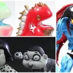 2018年7月29日の「WF2018夏」でUNBOX INDUSTRIESが準備中の「モノノケDino」「日野日出志」「DEVILMAN」などを紹介!