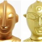 墓場の画廊のONLINE STOREがNEWオープン! そこでブルマァク製「Sウルトラマン」&「Sウルトラセブン」の「ゴールド」を先行発売中!