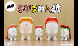 """2018年7月29日の「WF2018夏」で千値練がアーティストコラボ「SUSHI-L.A.""""(スシエルエー)」の新バージョンを発売!"""