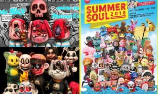 2018年8月18日に香港で開催される「SUMMER SOUL 2018」でBlackBook ToyがMarvel Okinawa氏の「GUY Pirate Boy」ほかBlackBook Toy自身のワンオフ6種を準備中!