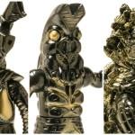 ショップ・HMV限定でマルサン製[『怪獣中毒』BLACK GOLDシリーズ]の「ゼットン」「バルタン星人」「ピグモン」絶賛発売中!