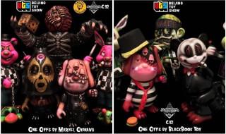 2017年9月7日の「BEIJING TOY SHOW」にでMarvel Okinawa氏、BlackBook Toyがそれぞれ製作したワンオフを発売!