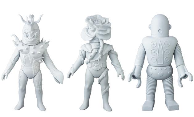 2018年9月発表の[東映レトロソフビコレクション]原型スクープは『仮面ライダー』から「イノカブトン」&「バラランガ」、そして『がんばれ!!ロボコン』から「ロボメカ」だ!