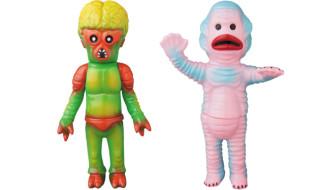 2018年10月7日より丸八玩具 × SHELTERBANKの「宇宙からの侵入者VADER」&「水棲人MARMAN」のメディコム・トイ限定版を発売!