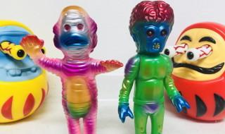 2018年10月18日からの「Taipei Toy Festival 2018」丸八玩具が出店! そこで[世界のバケモノ図鑑]TTF限定カラーと[ギョロだるま]を発売!