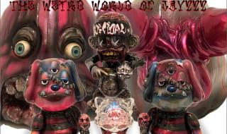 2018年10月6日0時〜2018年10月8日23時59分受付でBlackBook Toyがアーティスト・Jay222とのコラボワンオフ「The Weird World of Jay222」を抽選販売!