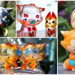 2018年10月18日からの「Taipei Toy Festival 2018」へOKLUNA TOYSが出店! 新作「Ray」「狐狸仲間クリアセット」「ちび狐パパとピンクDotdotセット」「ちびソラ(秋)」を発売!