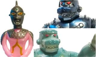 2018年10月18日からの「Taipei Toy Festival 2018」に出店するマルサン限定情報、第3弾! 「ウルトラセブン450」の限定版と「メカジャイアントゴリラ450」の先行発売だ!