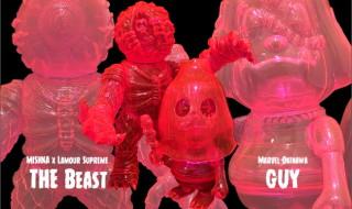 2018年10月11日0時〜2018年10月13日23時59分受付でBlackBook Toyが「Clear Neon PK」な「THE Beast」「GUY」を抽選販売!
