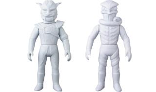 2018年10月発表の[東映レトロソフビコレクションM(ミドル)]原型スクープは『仮面ライダー』から「ジャガーマン」「海蛇男」だ!