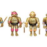 2018年11月30日からの「東京コミコン2018」限定でショップ・ガンキングが「ティーンエイジミュータントタートルズ 東京コミコン限定ゴールドグリッターバージョン」を発売!