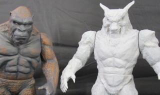スクープ!! Y・MSFが[よいこの怪獣シリーズ]最新作として「怪獣ウェアウルフ(怪獣狼男)」を準備中!