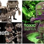 """2018年11月24日0時よりBlackBook Toyが「S""""K""""UM-ku」の新作「Stone edition」「Cyco Convict edition」「Toxic edition」の3種を発売"""