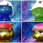 2018年11月30日からの「東京コミコン2018」へアーティスト・artegg-yumiが出店! 代表作「ポンちゃん」のコミコン限定版各種を準備中だ!