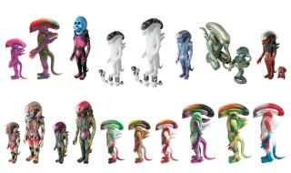 2018年11月16日から開催される「DesignerCon2018」でメディコム・トイが「Alien custom one-off」を販売!