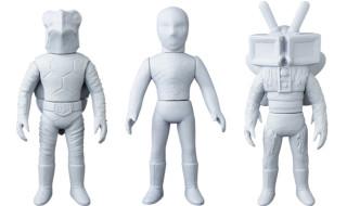 2018年11月発表の[東映レトロソフビコレクションM(ミドル)]原型スクープは『仮面ライダーV3』から「カメバズーカ」「デストロン戦闘員」「テレビバエ」だ!