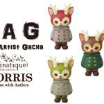 VAG(VINYL ARTIST GACHA)モリス(郵便局限定、1stカラー2種復刻+3種スペシャルカラー)