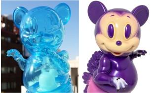 2018年12月28日0時よりBlackBook Toyが2018年ラストとして「Mousezilla Hologram with BL GID mini」「Disguisedzilla」を発売!
