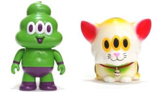 2018年12月31日23時59分59秒よりショップ・One up.Online Storeにてアートジャンキー製「ソフトマンレスラー グリーンマンver.」「カームキャット福を呼ぶ猫ver.」を発売開始!