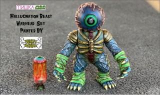 2018年12月6日0時〜2018年12月8日23時59分受付でBlackBook ToyがKENTH TOY WORK彩色「Hallucination Beast & Warhead」のセットを抽選販売!