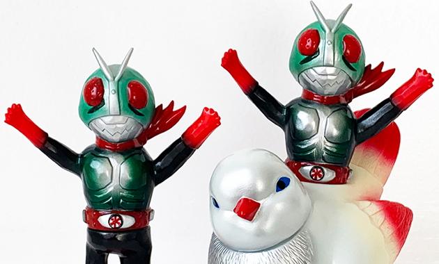 2019年1月12日より「『石ノ森章太郎 ART TOY FES.』in SENDAI」開催決定! そこでSwimmyDesignLabの「仮面ライダー新2号SPECIALカラーver」「とりレース 仮面ライダー新2号 ver」が登場!