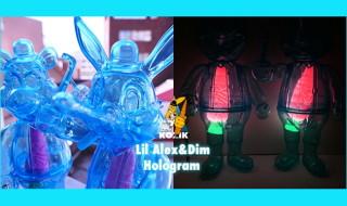 2019年1月18日0時よりBlackBook Toyが「Lil Alex」「Dim」の新作「Hologram」を発売開始!