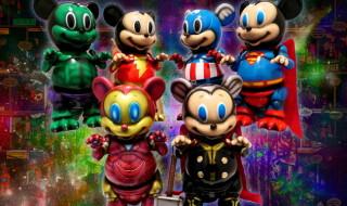 Marvel Okinawa氏とBlackBook Toyの「Mousezilla」をスーパーヒーローカスタムが登場! 2019年1月24日0時〜2019年1月26日23時59分受付で抽選販売!!