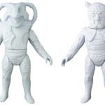 2019年1月発表の[東映レトロソフビコレクション]原型スクープは『仮面ライダー V3』&『仮面ライダー』から!