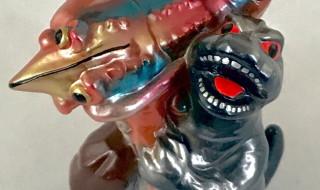 2019年2月10日の「WF2019冬」へM1号が出店! そこで超かわいい新規造形の最新作「エビゴジ」を発売するぞ!!