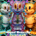 2019年2月22日0時よりBlackBook ToyがRon English氏との新作「Leopard Mousezilla micro run」を発売開始