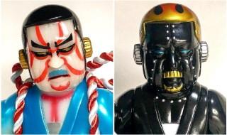 2019年2月10日の「WF2019冬」へSamuraiDollが出店! そこで「座頭ロボ 双六」の気になる新バージョンを発売するぞ!