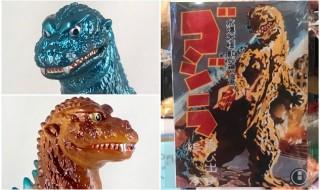 2019年2月10日の「WF2019冬」へ出店するM1号は新作「初代ゴジラ」「逆襲ゴジラ」に加えて「飛び出す絵本」も準備中!