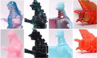 2019年2月10日の「WF2019冬」へ出店するゴジラ・ストア限定で、新たなマルサン製「東宝怪獣大図鑑60mm」を発売!