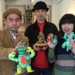 京都のトランスポップギャラリーにて開催中の「エレガブとガム太郎 たのしい怪獣展」は2019年3月16日まで!