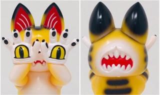 2019年3月10日に「第8回ドキドキ大阪ソフビ万博」開催! そこでGRAPE BRAINが「ジゴクネコ おにぎり」の新色「虎にぎり」を発売開始!