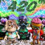 2019年4月20日23時59分締切でBlackBook Toyがアーティスト・Marvel Okinawa氏が手がけたワンオフ「420 one offs」を抽選販売