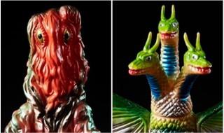 墓場の画廊WEST1周年を記念してブルマァク製「ヘドラ」&「キングギドラ」の「墓場の画廊 別注」カラー発売中!